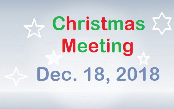 Christmas Meeting December 18, 2018